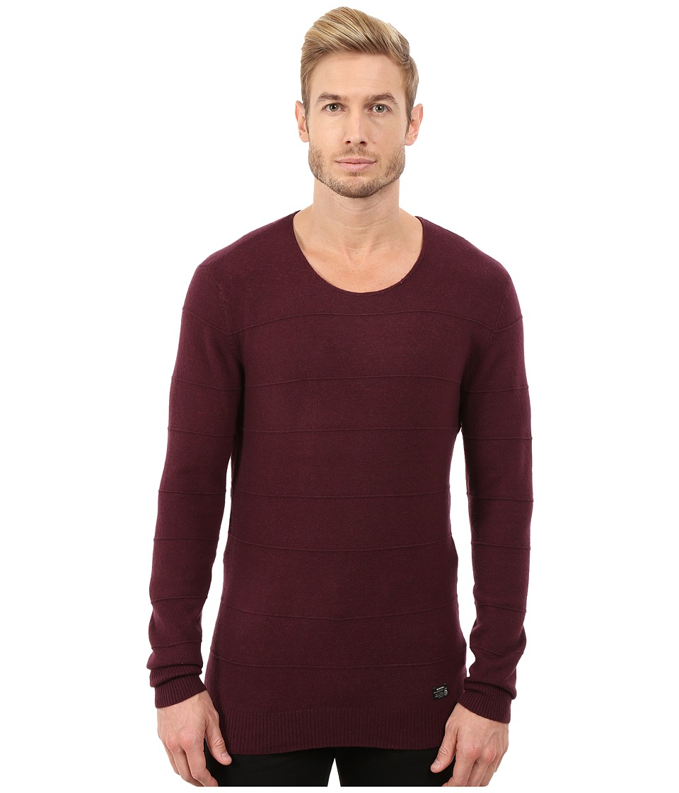 Diesel - K-Sabath Pullover (Wine) Men's Sweater