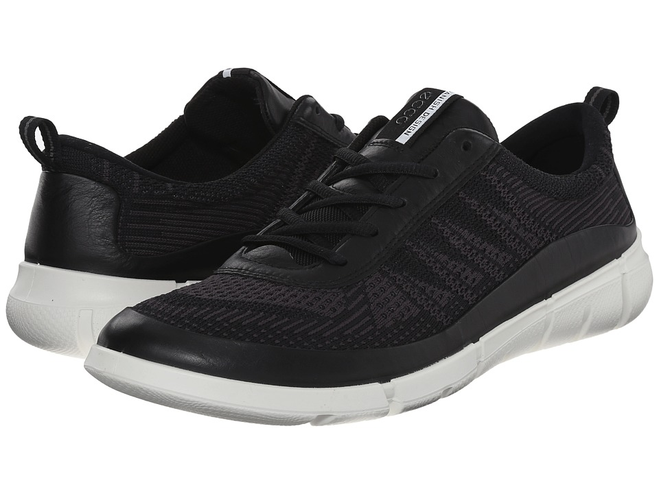 ECCO Sport - Intrinsic Knit (Black/Moonless) Men's Shoes