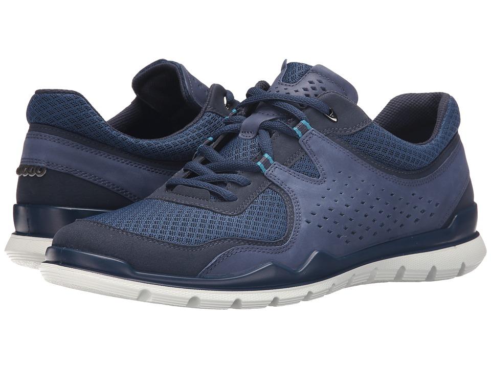 ECCO Sport - Lynx Tie (Marine/Denim Blue/ True Navy) Men's Shoes
