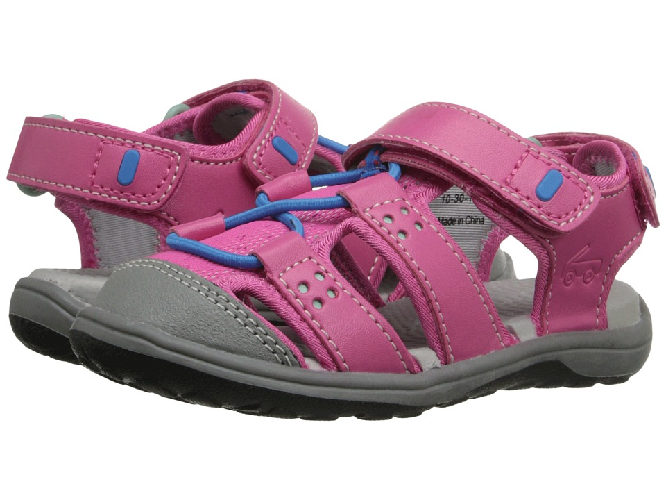 See Kai Run Kids - Kenai (Toddler/Little Kid) (Hot Pink) Girl's Shoes