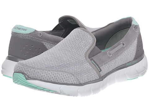 SKECHERS - Soleus - All Aboard (Gray) Women's Shoes