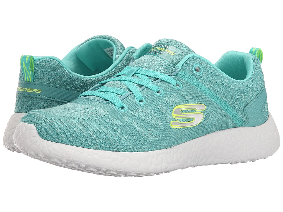 SKECHERS - Energy Burst (Aqua) Women's Lace up casual Shoes