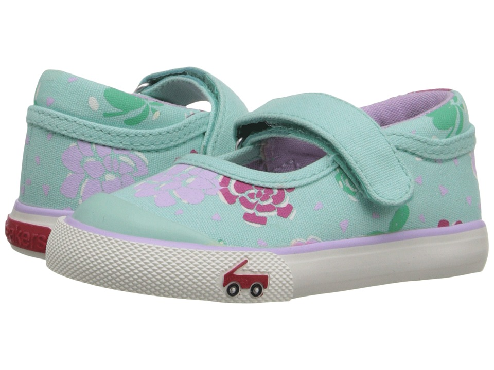 See Kai Run Kids - Marie (Toddler) (Mint) Girls Shoes