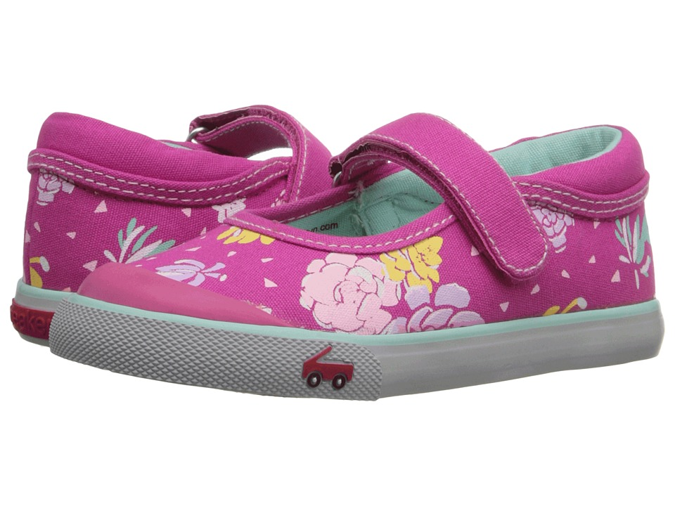 See Kai Run Kids - Marie (Toddler) (Hot Pink 2) Girls Shoes