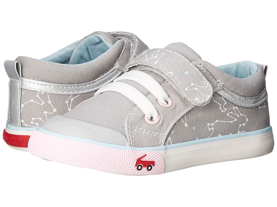 See Kai Run Kids - Kristin (Toddler) (Gray 1) Girl's Shoes