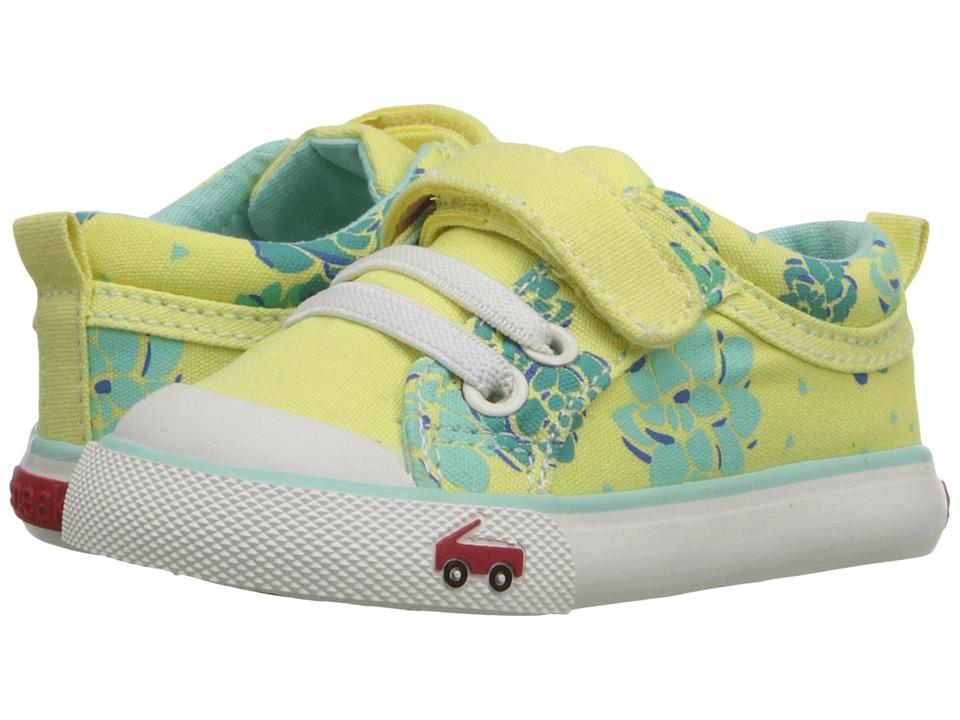See Kai Run Kids - Kristin (Toddler) (Yellow) Girl's Shoes