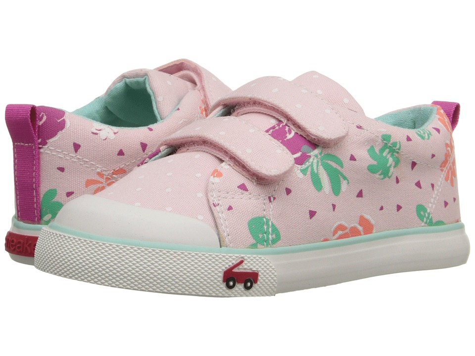See Kai Run Kids - Veronica (Toddler) (Pink) Girls Shoes