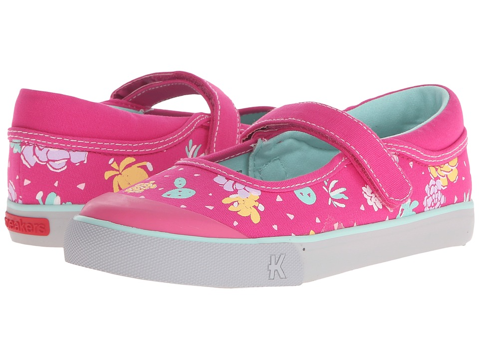 See Kai Run Kids - Sandi (Toddler/Little Kid) (Hot Pink) Girls Shoes