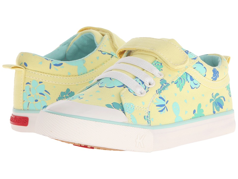 See Kai Run Kids - Kristin (Toddler/Little Kid) (Yellow) Girls Shoes