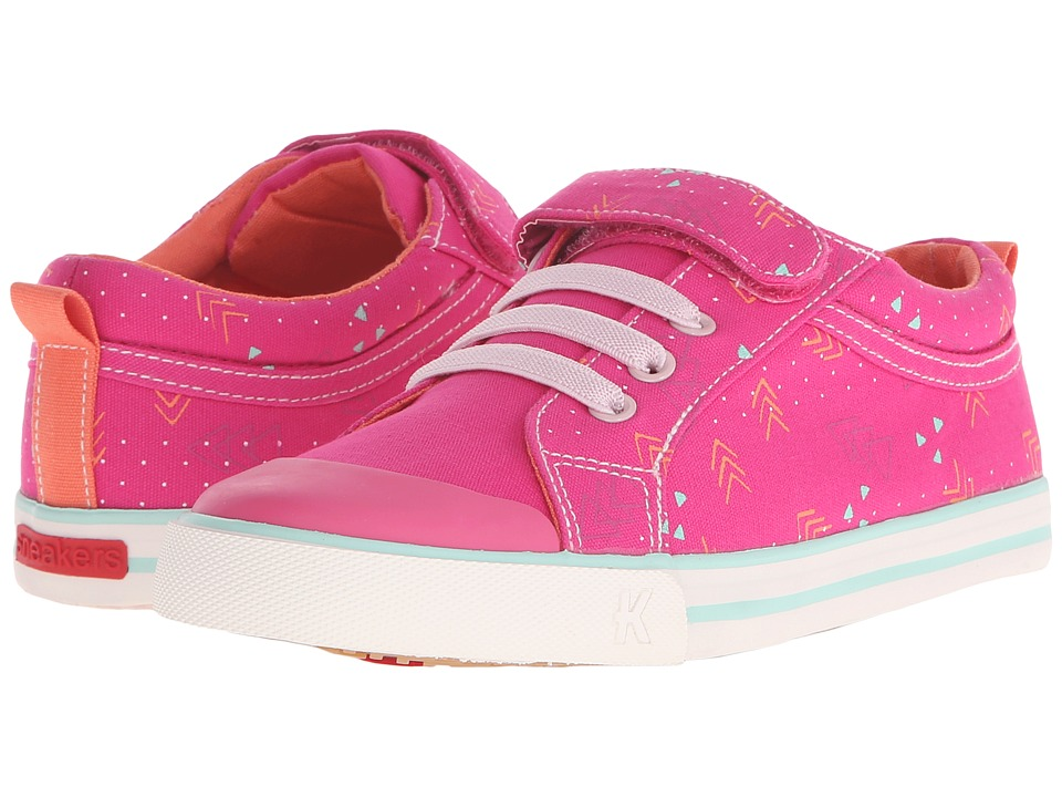 See Kai Run Kids - Kristin (Toddler/Little Kid) (Hot Pink 2) Girls Shoes