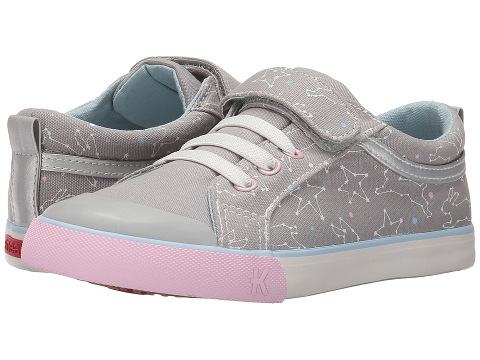 See Kai Run Kids - Kristin (Toddler/Little Kid) (Gray 1) Girls Shoes