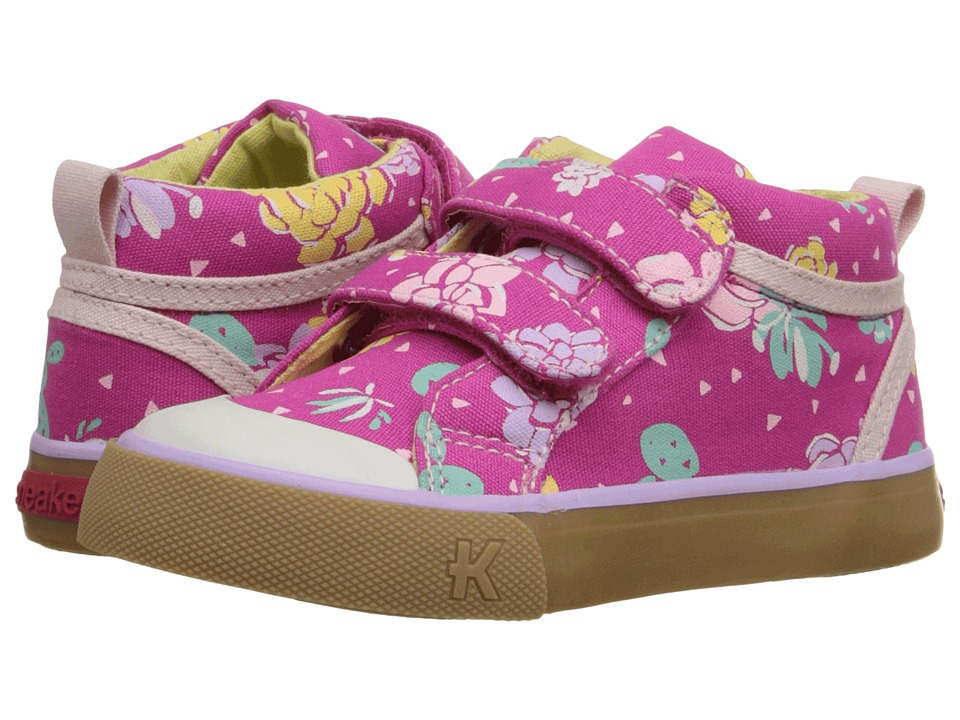 See Kai Run Kids - Roxy (Toddler/Little Kid) (Hot Pink) Girl's Shoes