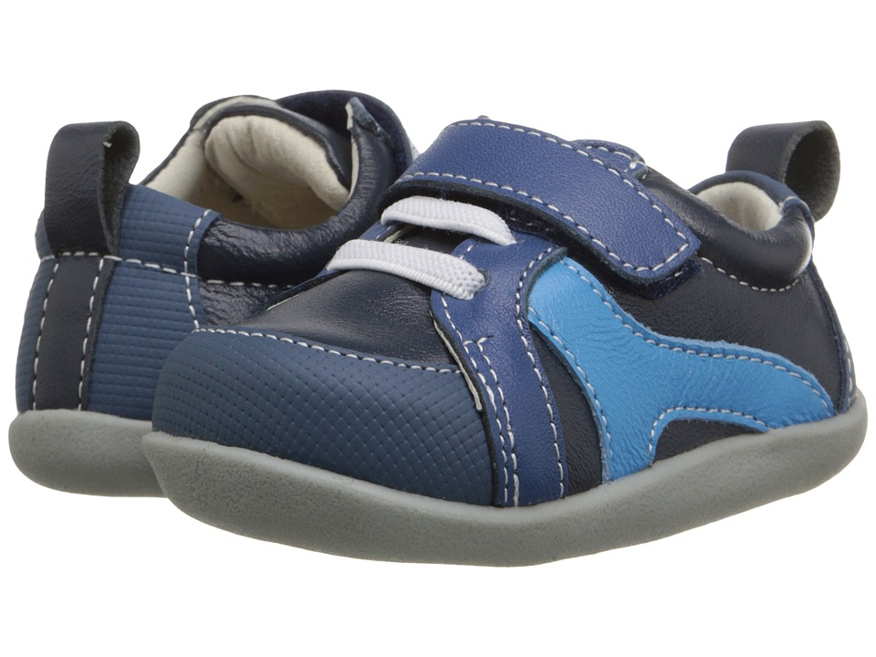 See Kai Run Kids - Scotti (Infant/Toddler) (Blue) Boy's Shoes
