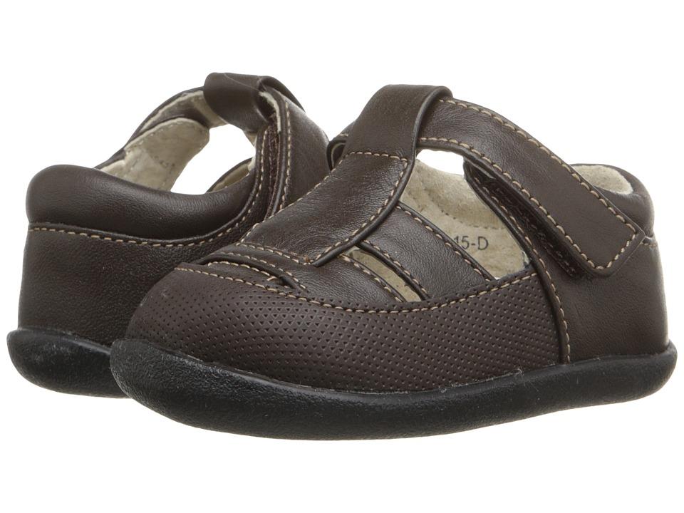 See Kai Run Kids - Patrick II (Infant/Toddler) (Brown) Boy's Shoes