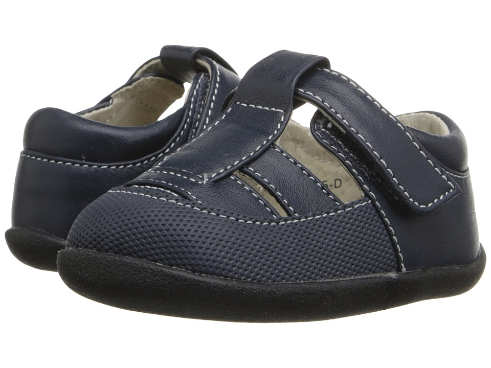 See Kai Run Kids - Patrick II (Infant/Toddler) (Navy) Boy's Shoes