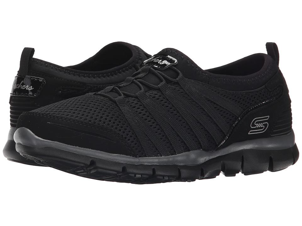 SKECHERS - Gratis 66 (Black) Women's Lace up casual Shoes