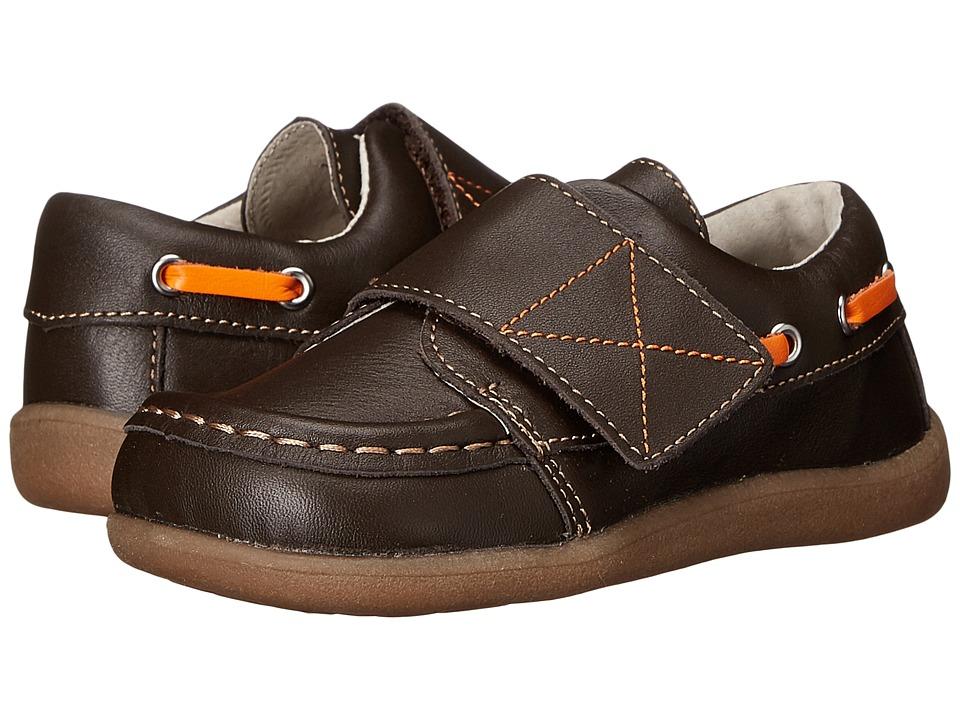 See Kai Run Kids - Milton (Toddler) (Brown) Boy's Shoes