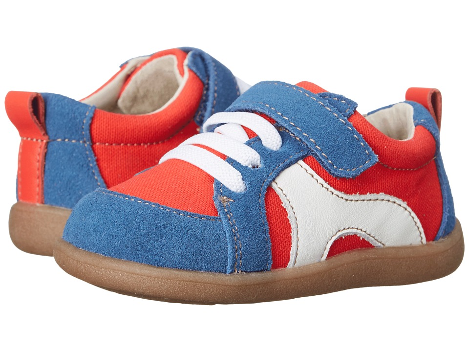 See Kai Run Kids - Johnny (Toddler) (Red) Boy's Shoes