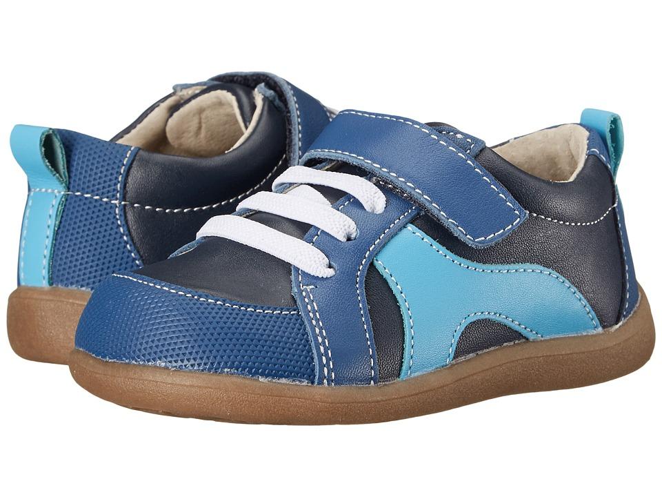 See Kai Run Kids - Johnny (Toddler) (Blue) Boy's Shoes
