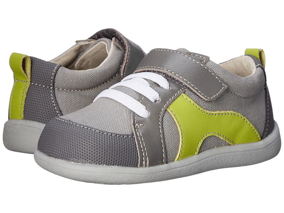 See Kai Run Kids - Johnny (Toddler) (Gray) Boy's Shoes