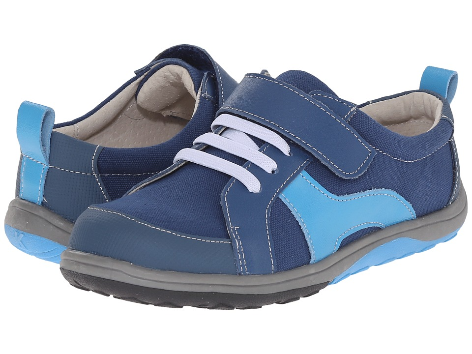 See Kai Run Kids - Strive (Toddler/Little Kid) (Blue) Boy's Shoes