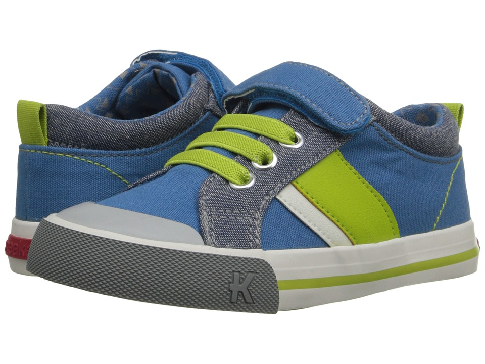 See Kai Run Kids - Sammi (Toddler/Little Kid) (Blue) Boy's Shoes