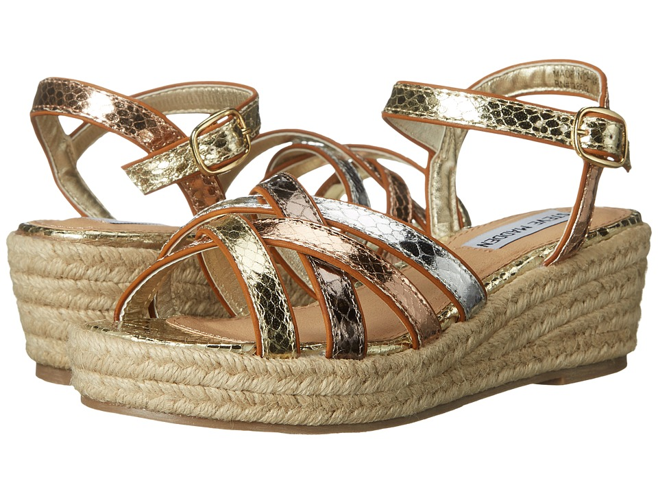 Steve Madden Kids - Jsouth (Little Kid/Big Kid) (Metallic Multi) Girl