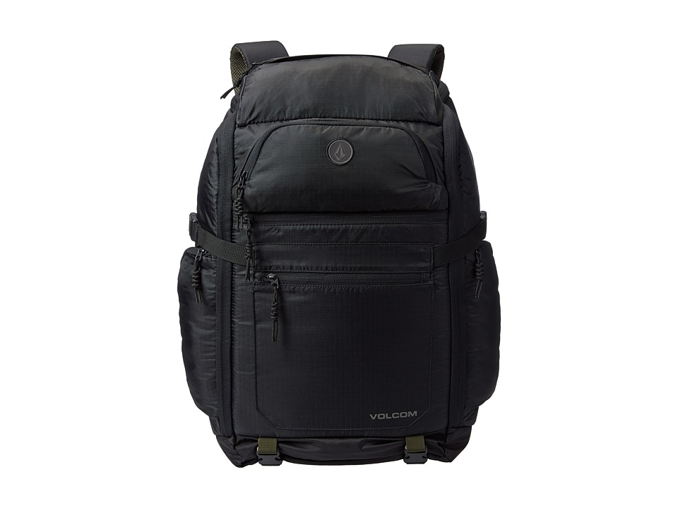 Volcom - Transit (Black Combo) Backpack Bags