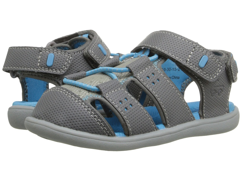 See Kai Run Kids - Lincoln (Toddler) (Gray) Boy's Shoes