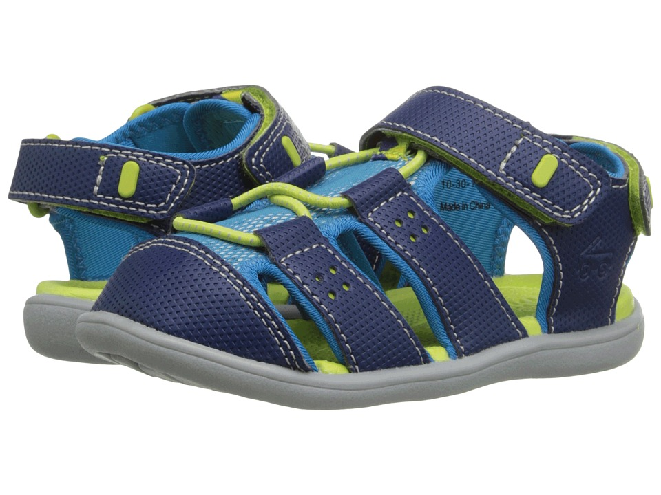 See Kai Run Kids - Lincoln (Toddler) (Navy) Boy's Shoes