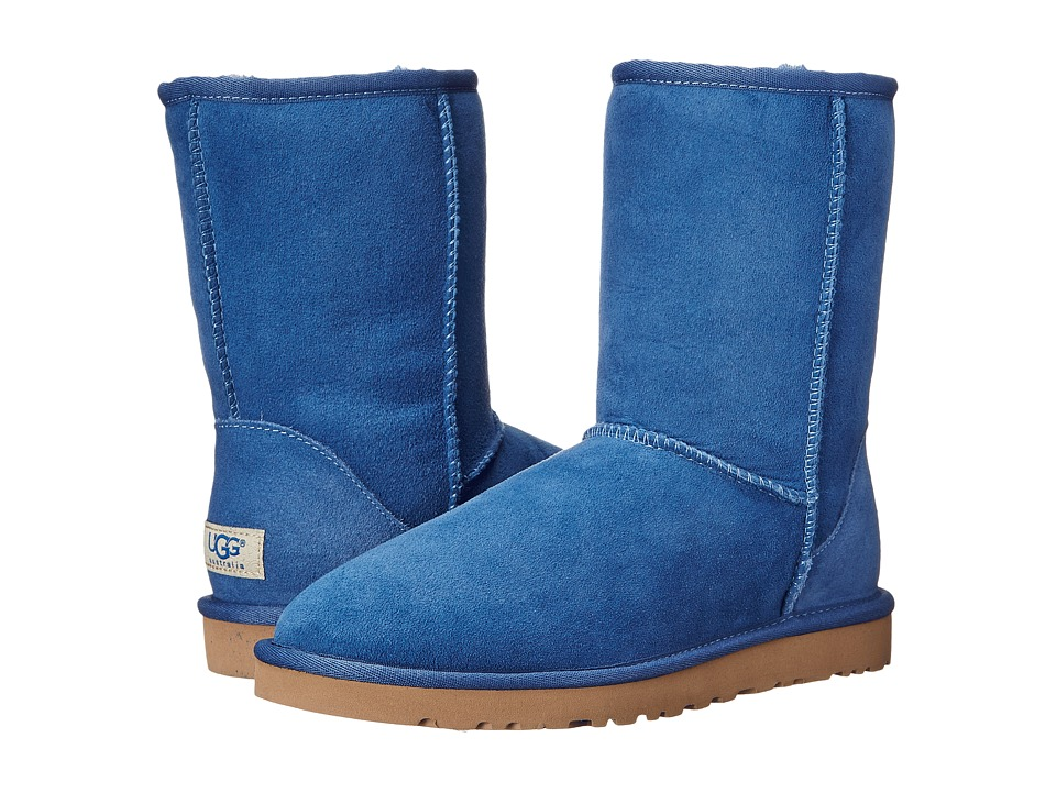 UGG - Classic Short (Blue Jay) Women's Pull-on Boots