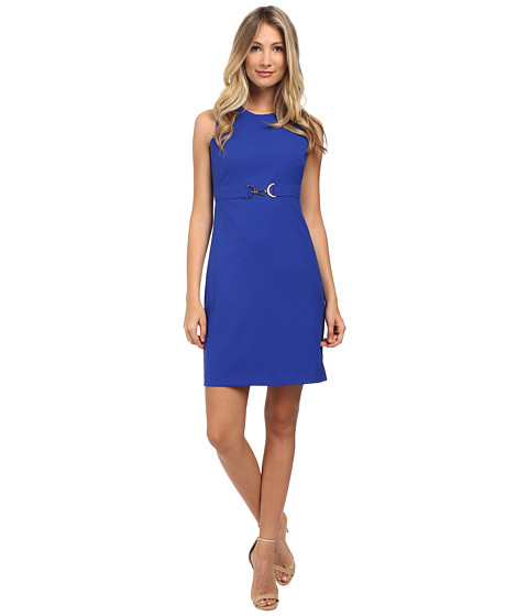 Calvin Klein - Sheath with Buckle Detail (Atlants) Women's Dress