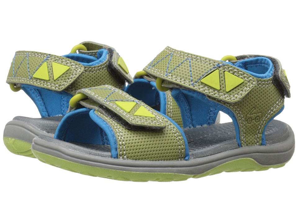 See Kai Run Kids - Mackinac (Toddler/Little Kid) (Green) Boy's Shoes