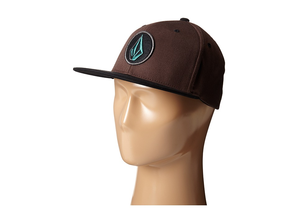 Volcom - Fusion (Bark Brown) Baseball Caps