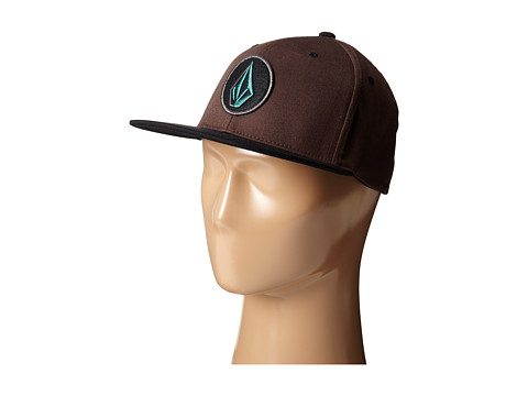 Volcom - Fusion (Bark Brown) Baseball Caps