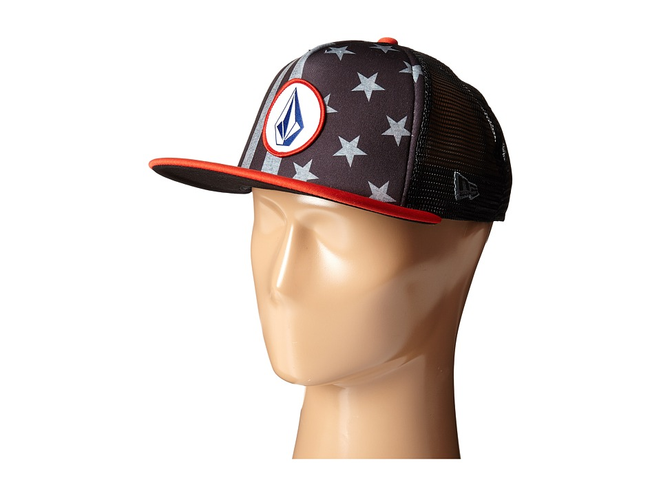 Volcom - Bar Star Cheese Hat (Dark Grey) Caps