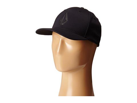 Volcom - Stone Tech Delta XFit (Black) Caps