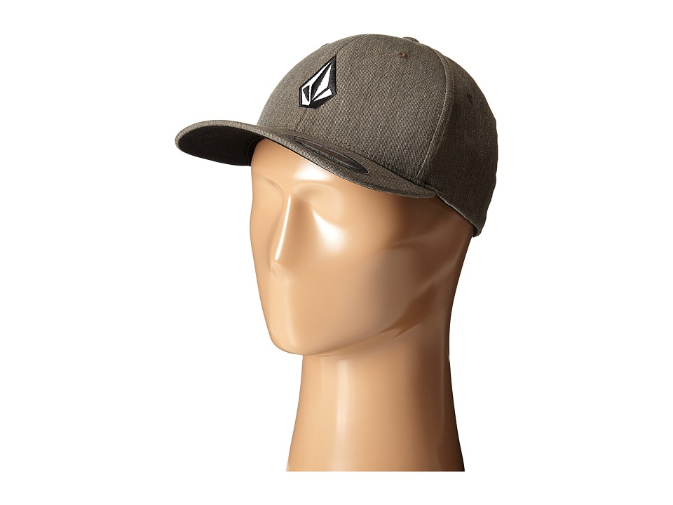 Volcom - Full Stone Heather (Bark Brown) Baseball Caps