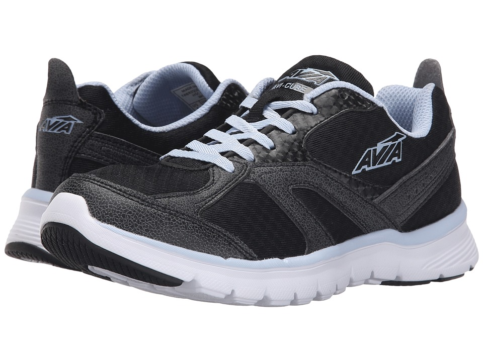 Avia - Avi-Cube (Black/Iron Grey/Skyway Way) Women's Shoes
