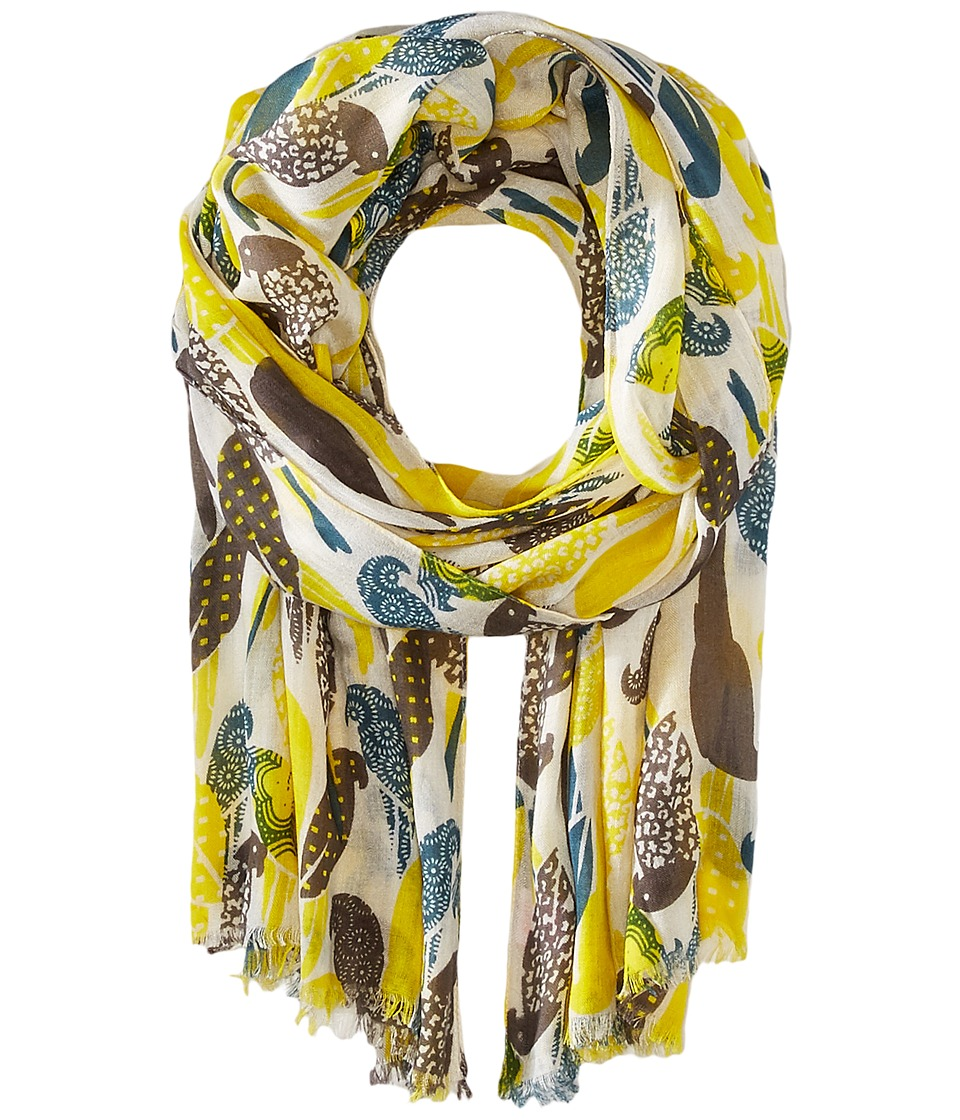 Pistil - Kea Scarf (Lemon Yellow) Scarves