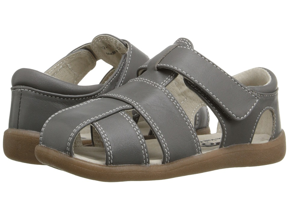 See Kai Run Kids - Jude (Toddler) (Gray) Boys Shoes