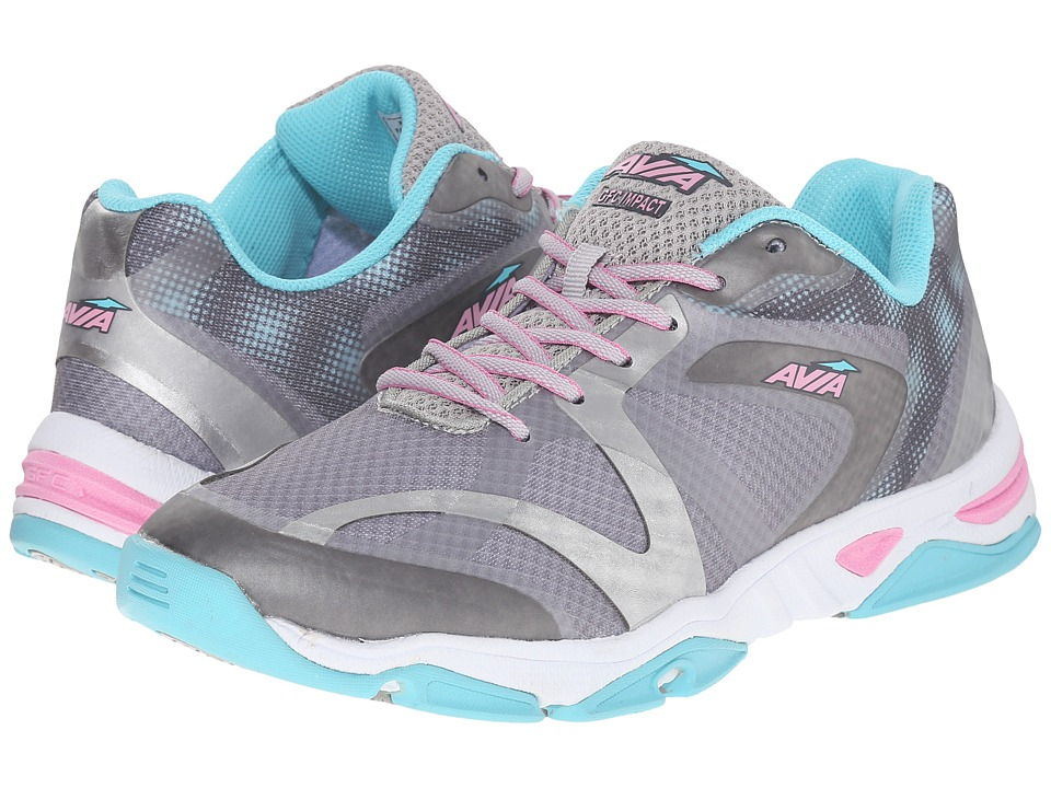 Avia GFC Impact (Chrome Silver/Iron Grey/Winter Blue/Prism Pink) Women