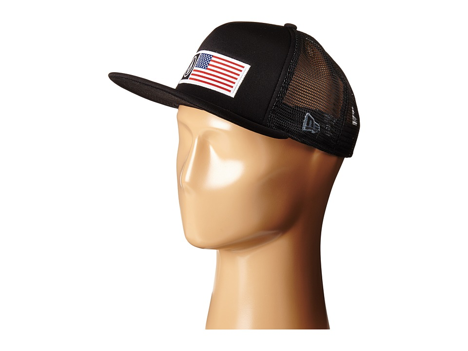 Volcom - Stone Flag Hat (Black) Caps