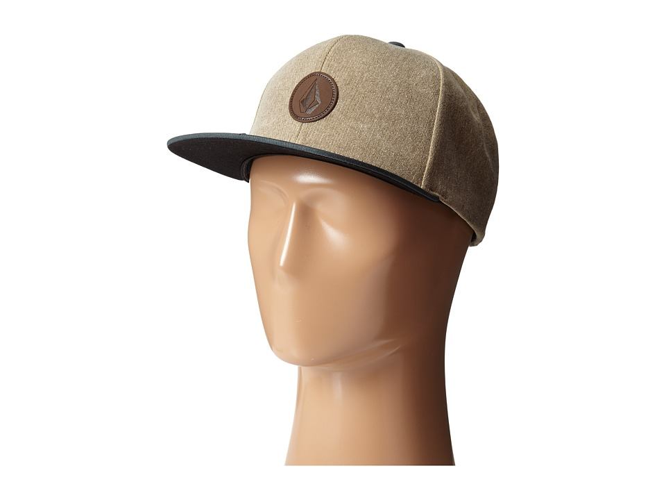 Volcom - Quarter Fabric Panel Hat (Forest) Caps