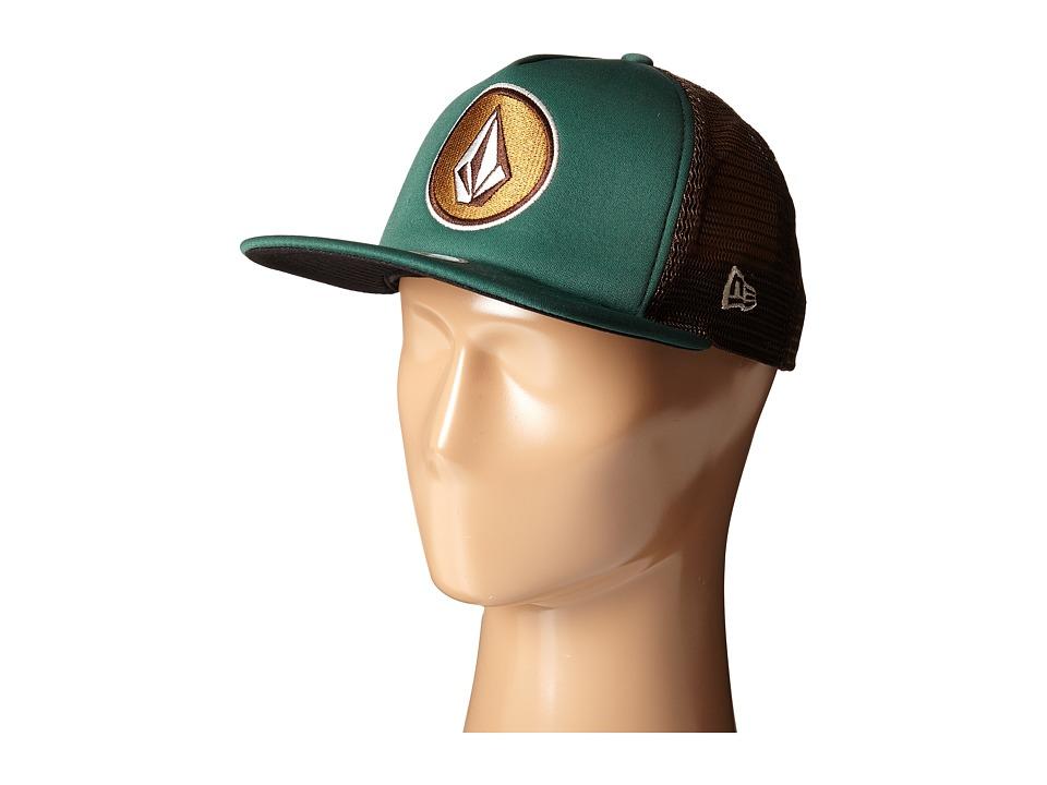 Volcom - Coast (Emerald Green) Baseball Caps