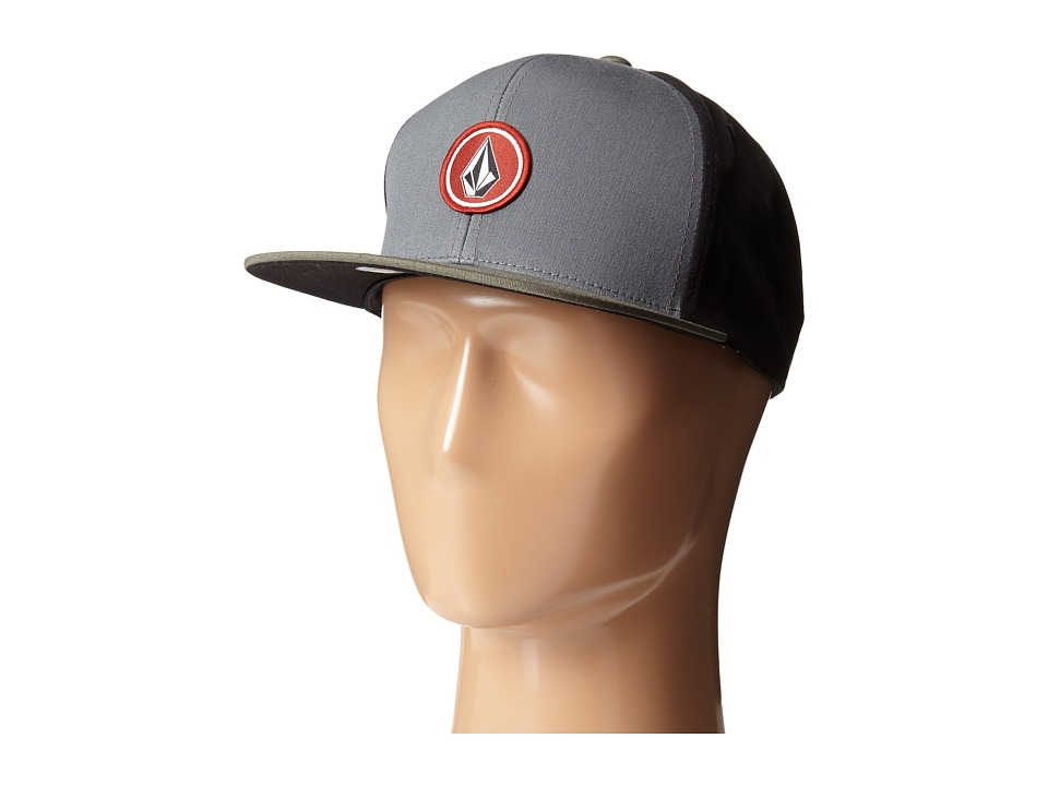 Volcom - Quarter (Dark Grey) Baseball Caps