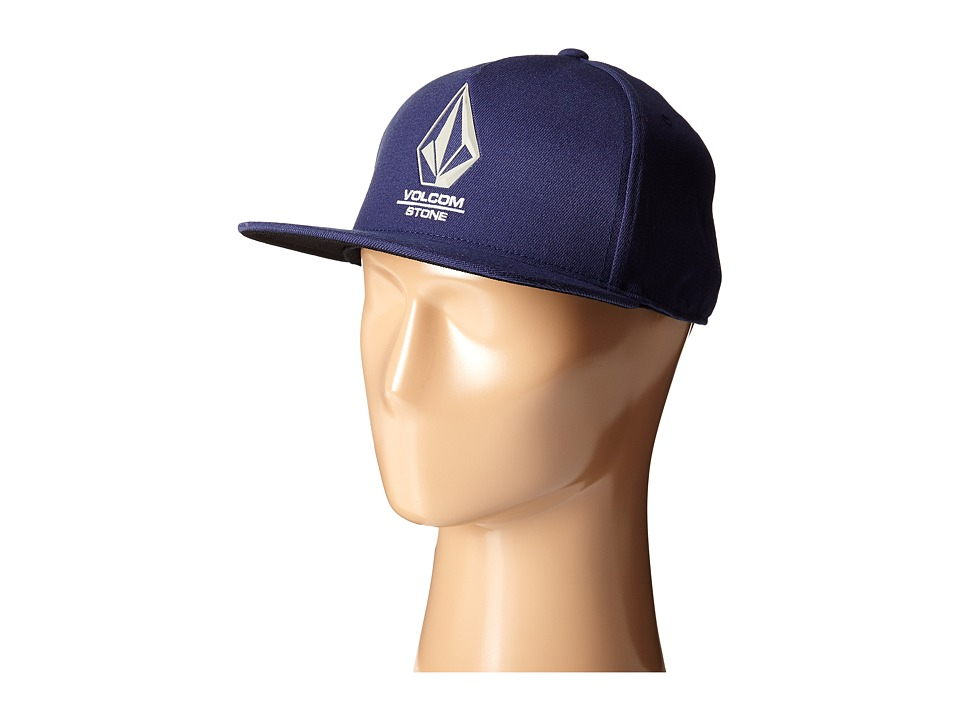 Volcom - Bevel (Matured Blue) Baseball Caps