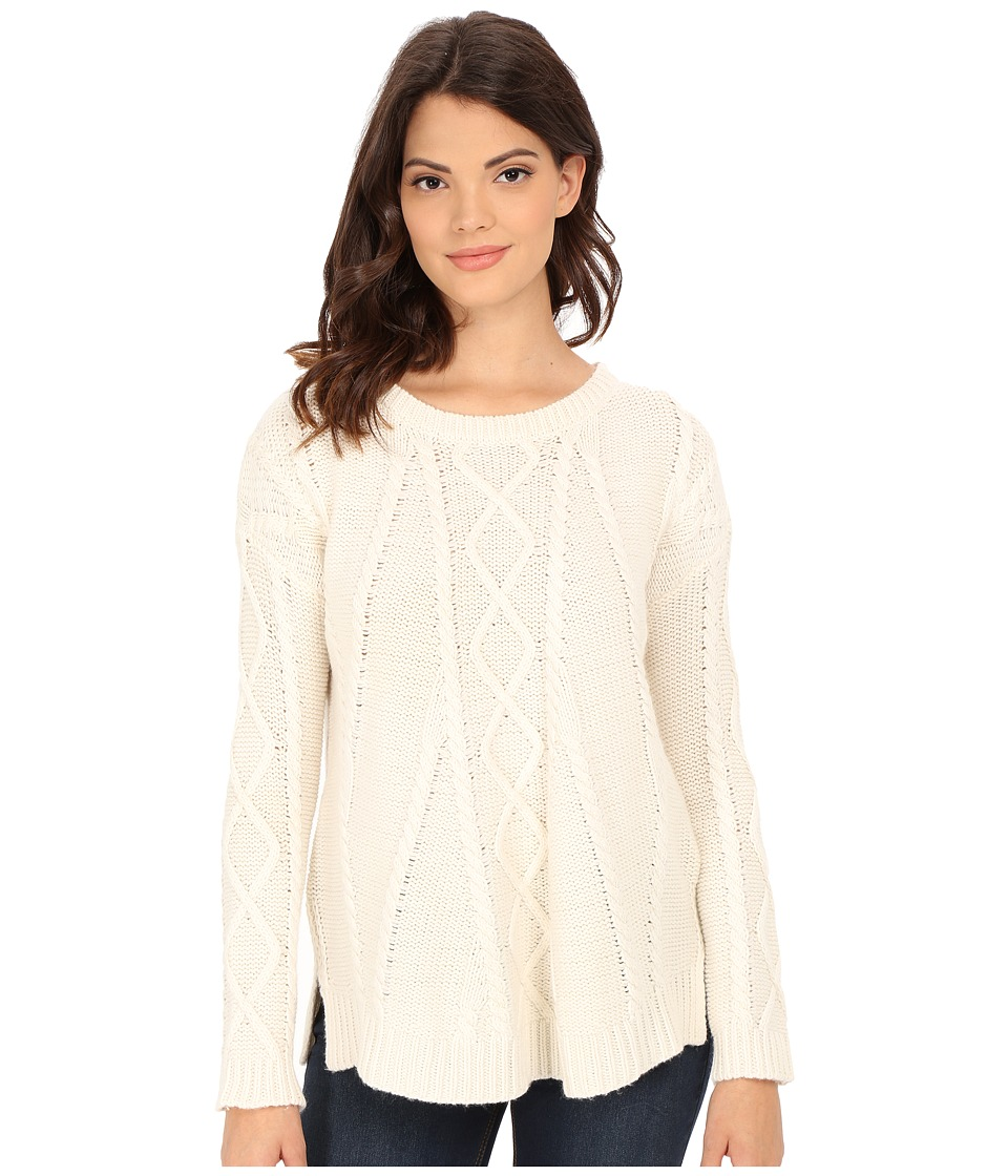 Splendid - Fireplace Cable Swing Sweater (Natural) Women's Sweater