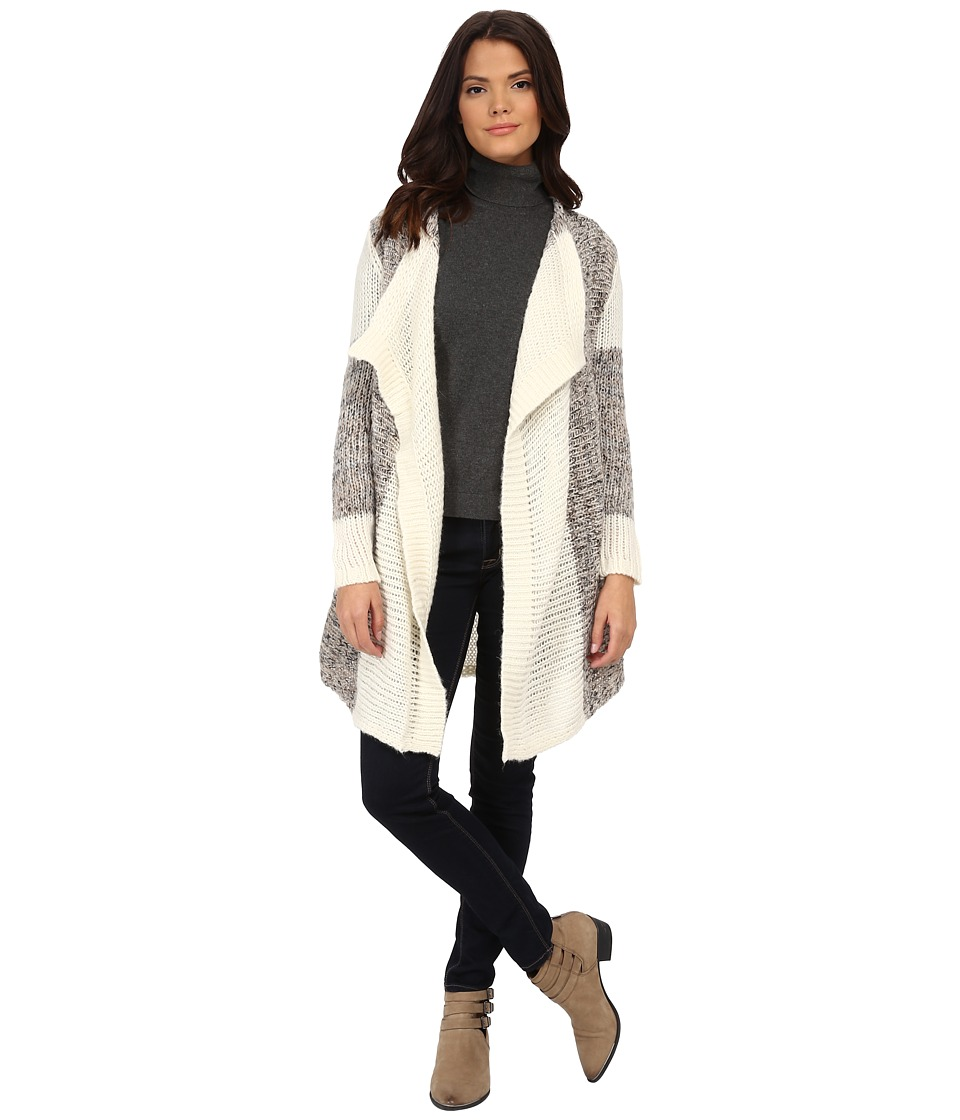 Splendid - Heritage Cardigan (Cream) Women's Sweater