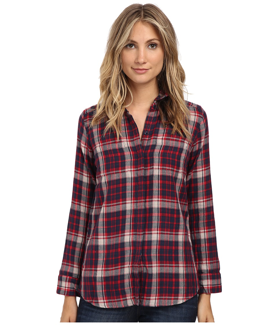 Splendid - Hunter Plaid Shirt (Fiesta) Women